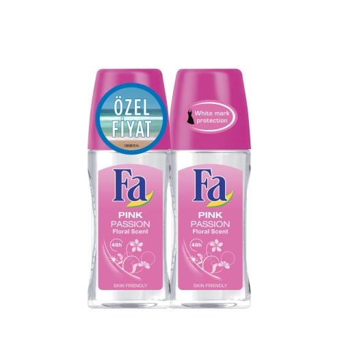 Fa Deodorant Roll-On 2'li Pink Passion