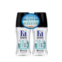 Fa Deodorant Roll-On 2'li Fresh Pulse