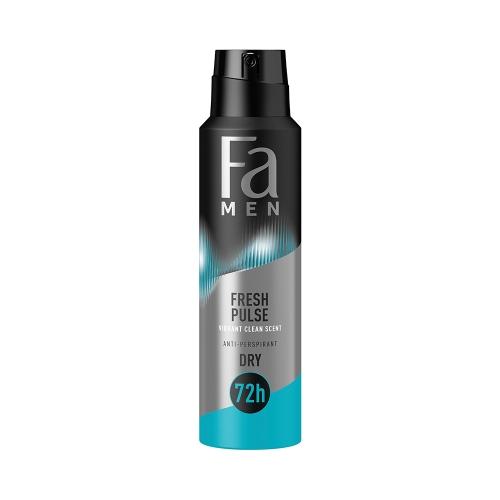 Fa Deodorant Fresh Pulse Men 150 Ml