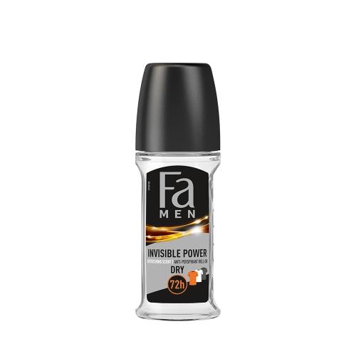 Fa Deodorant Roll-On Men Invisible Power