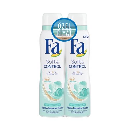 Fa Deodorant 2'li Soft & Control 150 Ml+150 Ml
