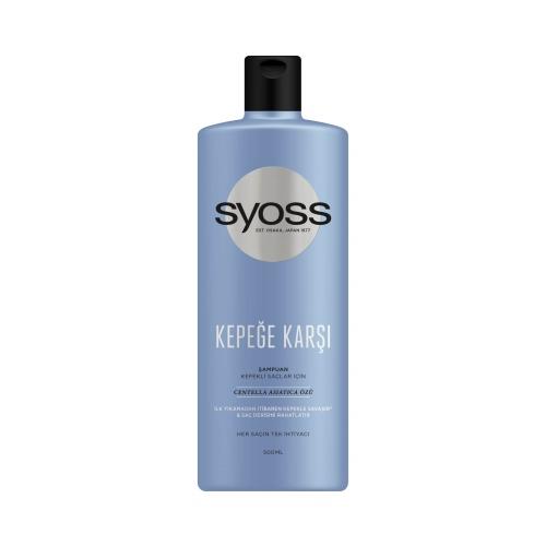 Syoss Kepeğe Karşı Şampuan 500 Ml
