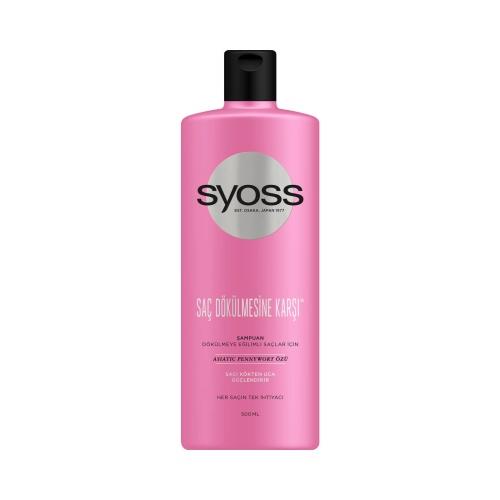 Syoss Şampuan Saç Dökülmelerine Karşı 500 Ml