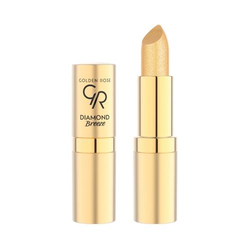 Golden Rose Diamond Breeze Shimmering Ruj Lipstick No:01 24K Gold