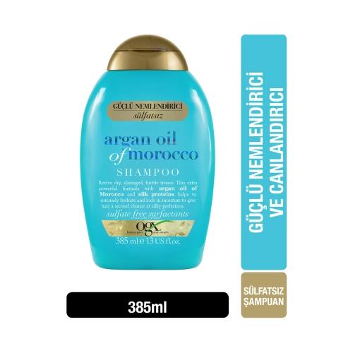 Ogx Ekstra Güçlü Nemlendirici ve Canlandırıcı Argan Oil Of Morocco Şampuan 385 Ml