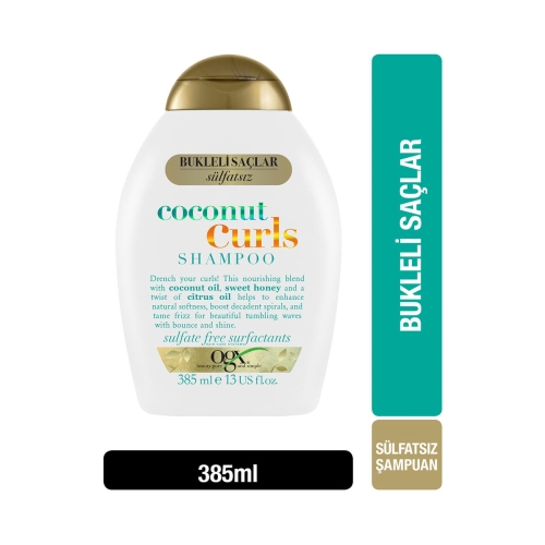 Ogx Coconut Curls Şampuan 385 Ml