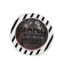 Pretty Stars Baked Eye Shadow06 Black Glitters