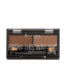 Rimmel Brow This Way Kit 02 Medium Brown