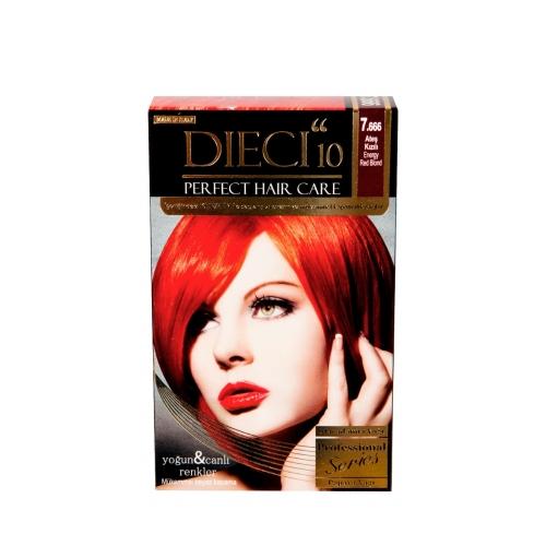 Dieci Perfect Kit Boya 7-666 Ateş Kızılı