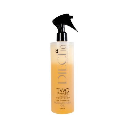 Dieci10 Two Phase Macademia Oil 400 Ml Sarı