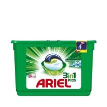 Ariel 3'ü 1 Arada Pods Sıvı Çamaşır Deterjanı Kapsülü Dağ Esintisi 15 Yıkama