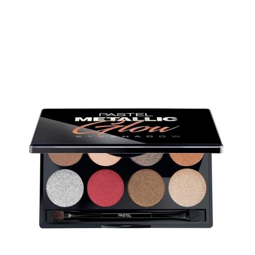 Pastel Metallic Glow Eyeshadow Palet Far 8'li