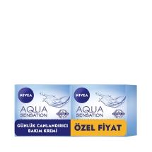 Nivea Aqua Sensation Canlandırıcı Bakım Kremi 2'li