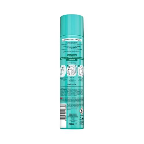 L'Oréal Paris Magic Shampoo Görünmez Kuru Şampuan 200ml -Yağmur Ormanları