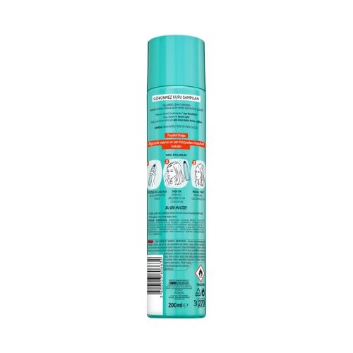 L'Oréal Paris Magic Shampoo Görünmez Kuru Şampuan 200ml -Tropikal Dalga