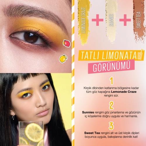 Maybelline New York Lemonade Craze Far Paleti