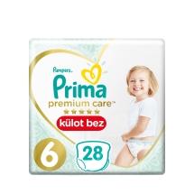 Prima Premium Care Külot Bebek Bezi 6 Beden Extra Large