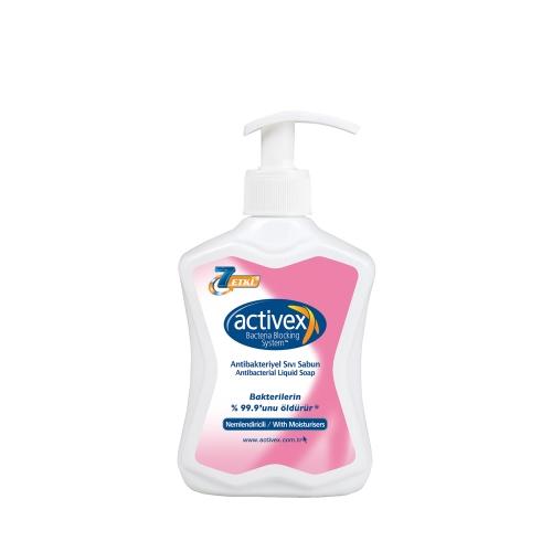 Activex Nemlendirici Antibakteriyel Bakım Sıvı Sabun 300 Ml