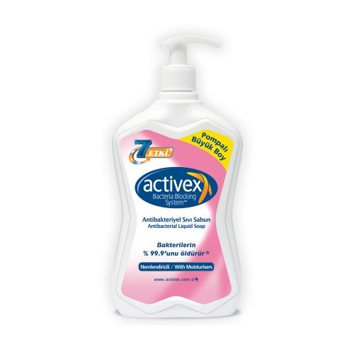 Activex Nemlendirici 700 Ml Anti Bakteriyel Sıvı Sabun
