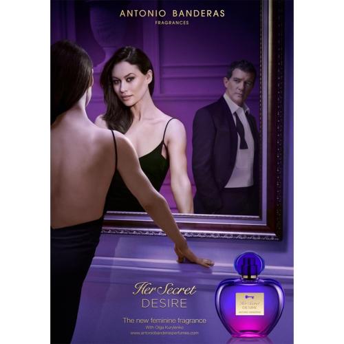 Antonio Banderas Her Secret Desire Edt 80 Ml