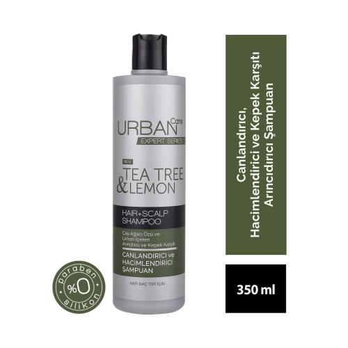 Urban Care Expert Tea Tree & Lemon Şampuan 350 Ml
