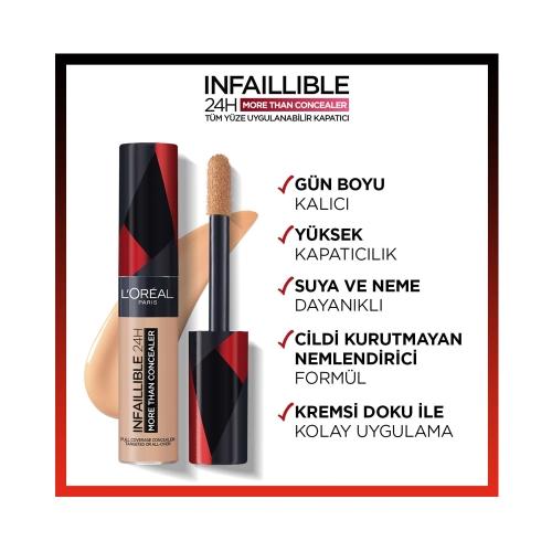 L'Oréal Paris Infaillible Tüm Yüze Uygulanabilir Kapatıcı 327 Cashmere