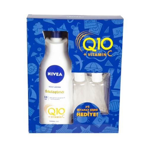 Nivea Body Performance Q10 Sıkılaştırıcı Vücut Losyonu 400 Ml + Seyahat Kiti