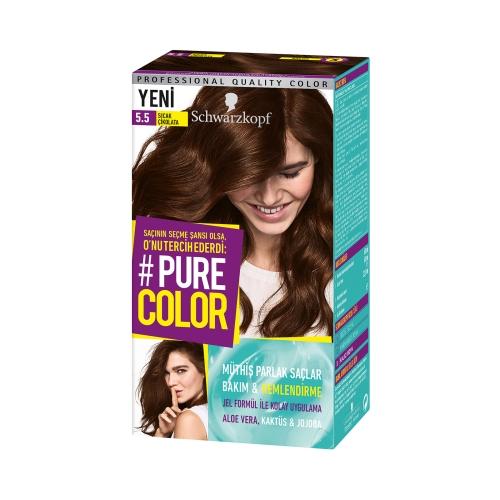 Pure Color 5-5 Sıcak Çikolata