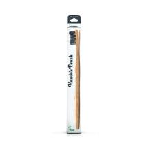 Humble Brush Bambu Yetişkin Diş Fırçası Siyah
