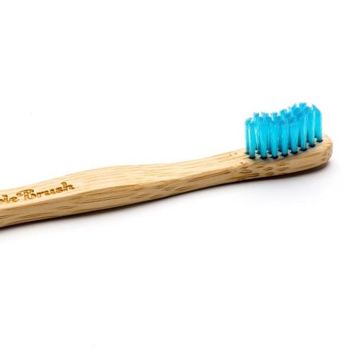 Humble Brush Bambu Çocuk Diş Fırçası Mavi