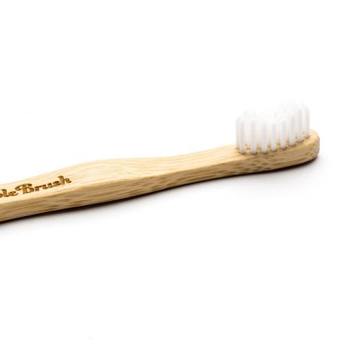 Humble Brush Bambu Çocuk Diş Fırçası Beyaz