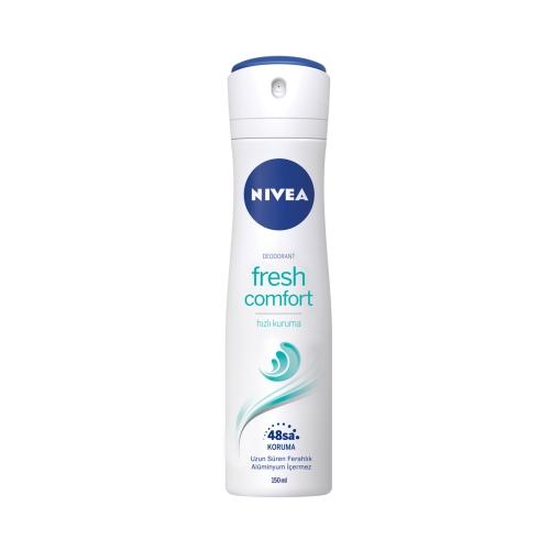 Nivea Deodorant Sprey Fresh Comfort Kadın150 Ml