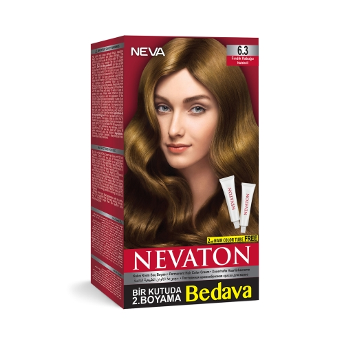 Neva Nevaton Saç Boyası 6.3 Fındık Kabuğu
