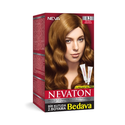 Neva Nevaton Saç Boyası 8.3 Altın Sarısı