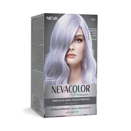 Neva Color Premium Saç Boyası Füme Gray