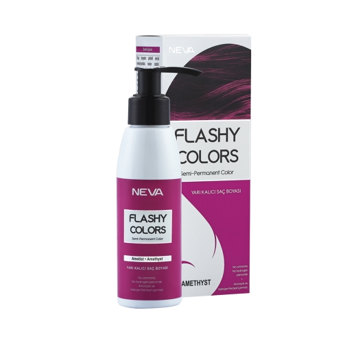 Neva Flashy Colors Set Ametist Mor 100 Ml