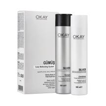 Okay Professional Silver Şampuan & Saç Kremi  300+300 Ml Set