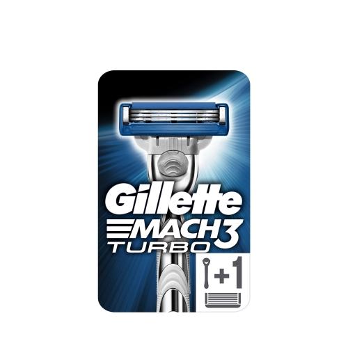 Gillette Mach3 Turbo Tıraş Makina Aloe 1 Up