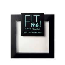 Maybelline New York Fit Me Matte+Poreless Pudra 90 Translucent
