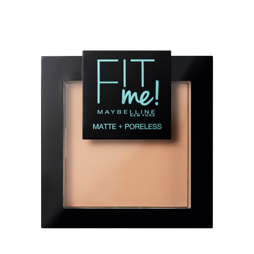 Maybelline New York Fit Me Matte+Poreless Pudra 120 Classic Ivory