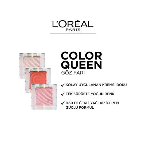 L'Oréal Paris Color Queen Oil Eyeshadow 06 Ferocious