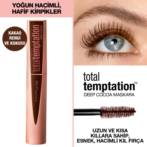 Maybelline New York Total Temptation Maskara 02 Deep