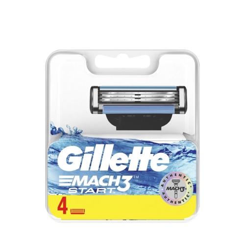 Gillette Mach3 Start Yedek Tıraş Bıçak 4 Lü