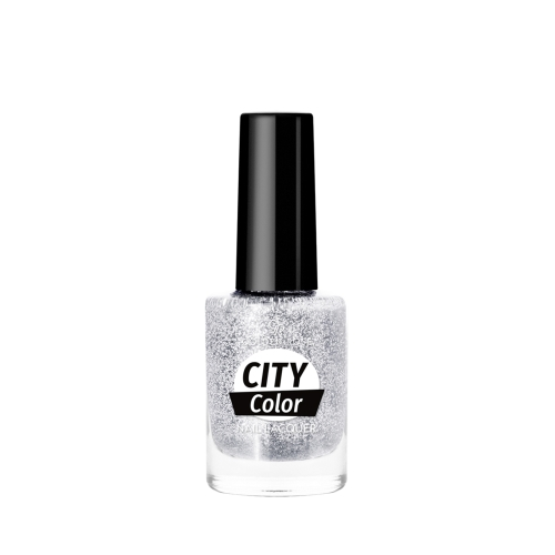 Golden Rose City Color Nail Lacquer Glitter 101