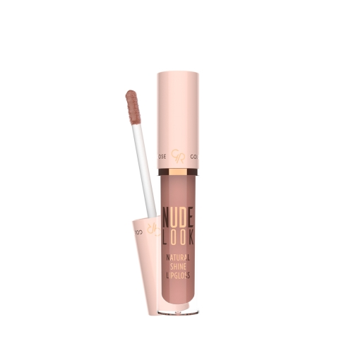 Golden Rose Nude Look Natural Shine Lipgloss No:1 Nude Delight