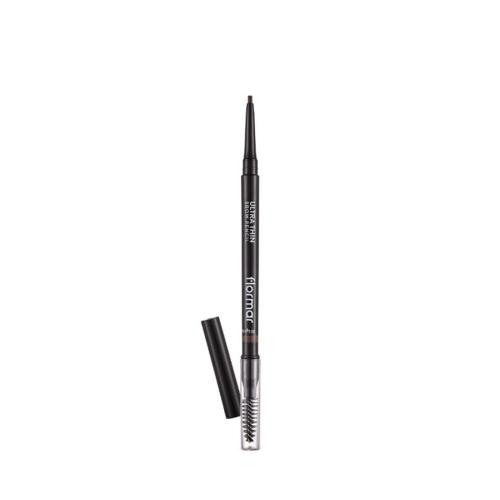 Flormar Ultra Thin Brow Pencil 02 Light Brown Kaş Kalemi