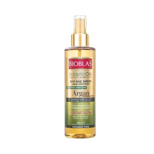 Bioblas Sıvı Saç Kremi Besleyici ve Onarıcı Bakım Argan Yağlı 200 Ml