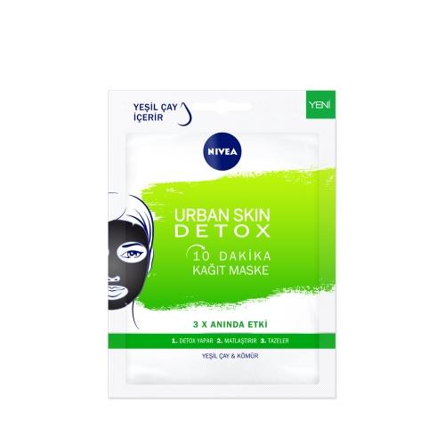 Nivea Urban Skin Detox 10 Dakika Kağıt Maske 1 Adet