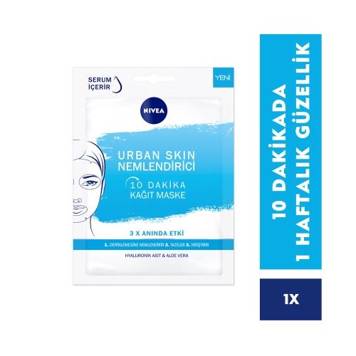 Nivea Urban Skin Nemlendirici 10 Dakika Kağıt Maske 1 Adet