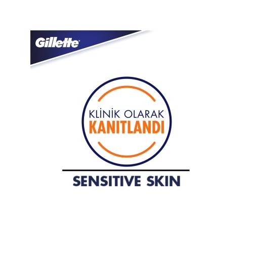 Gillette Skinguard Sensitive Tıraş Makinesi + 2'li Tıraş Bıçağı